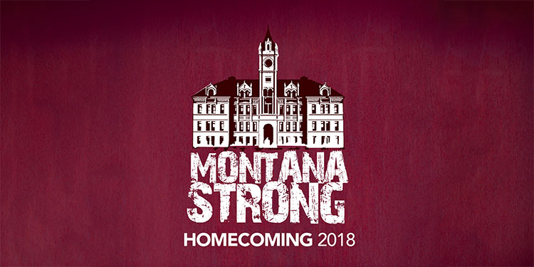 Montana Strong Homecoming 2018 logo