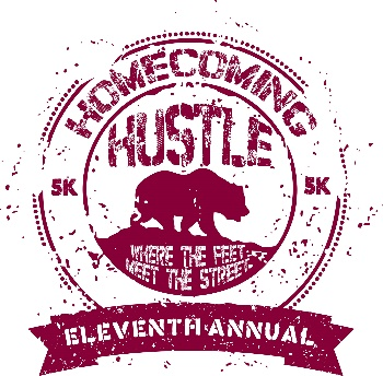 Eleventh Annual 5k Homecoming Hustle logo