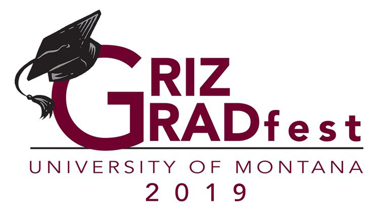 University of Montana Griz Gradfest 2019 logo