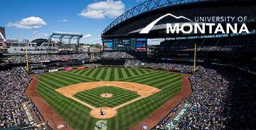 Picture of baseball game at Safeco Field