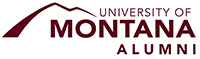 Montana Alumni logo and Missoula Downtown Association logo