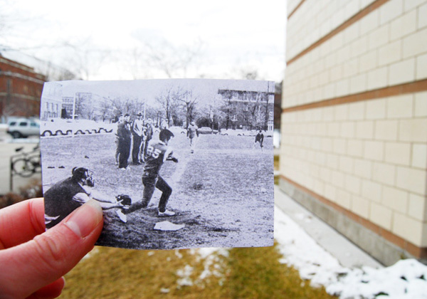 1960s Intramural Softball Game
