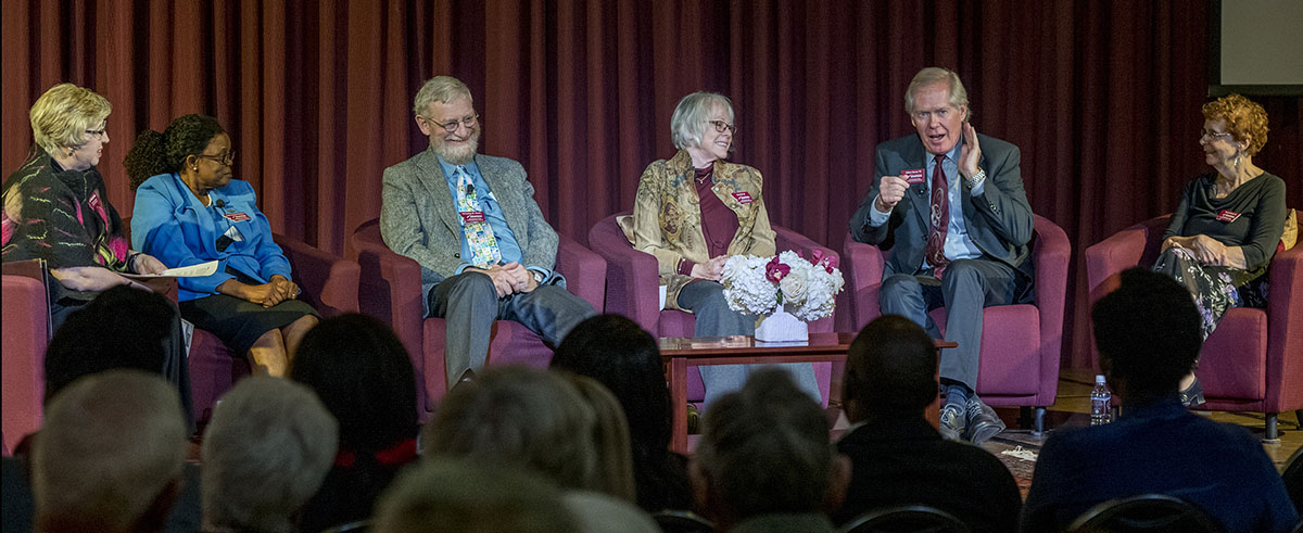 2018 Distinguished Alumni Award panel