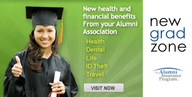 New health and financial benefits from your alumni association including health, dental, life, ID theft, travel