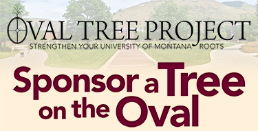Sponsor a tree on the Oval