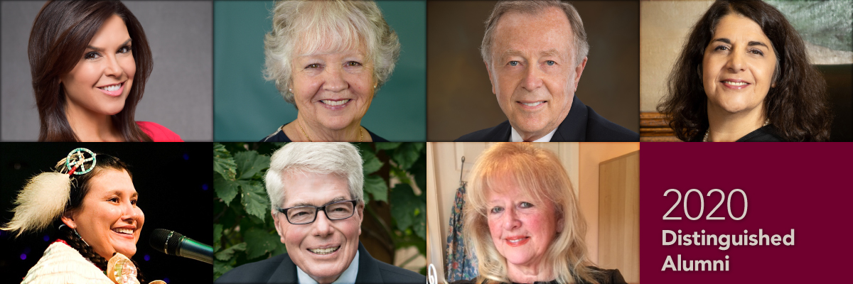 2020 Distinguished Alumni Award recipients