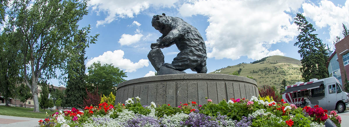 Photo of Grizzly Bear statue