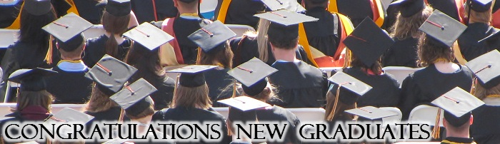 Congratulations New Graduates