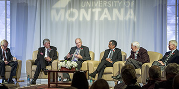 Panel discussion at 2017 Distinguished Alumni Awards