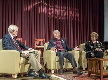 Picture of Distinguished Alumni Award ceremony